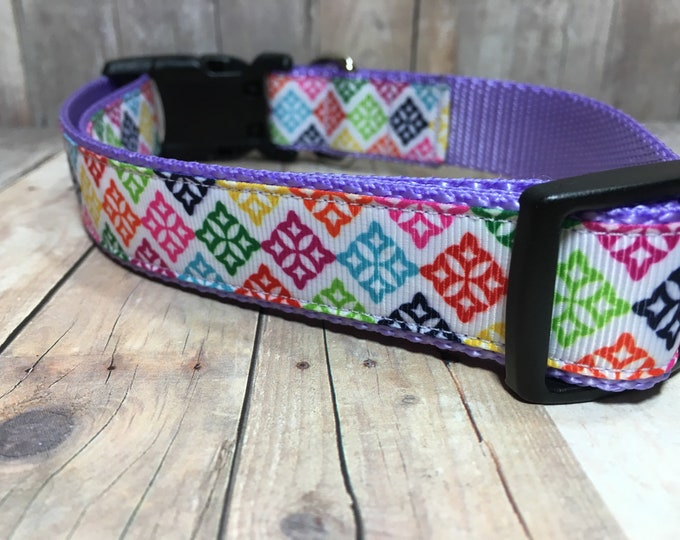 "The Gilda | Designer 1"" Width Dog Collar 