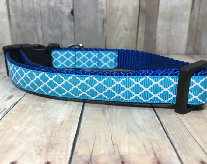 "The Memphis | Designer 3/4"" Width Dog Collar 