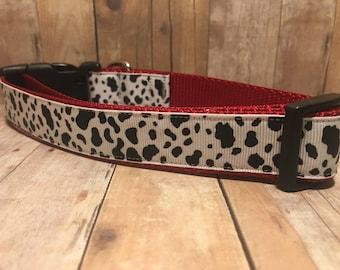 "The Henri | Designer 1"" Width Dog Collar | CupcakePups Collars | Medium/Large Dog Collar"