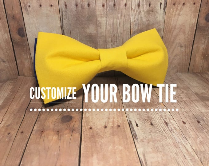 Customized Bow Tie | Large Dog Bow Tie | Medium/Large Dog | CupcakePups | Handmade | Brand New Bow-Tie