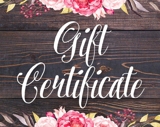 Gift Certificate for CupcakePups   Dog Collars   Custom   Leash Set   Gift