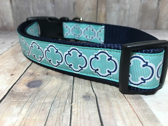 "The Ned | Designer 1"" Width Dog Collar 