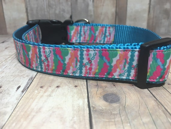 "The Jewel | Designer 1"" Width Dog Collar 