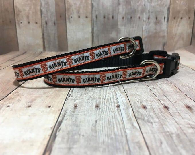 "The Slugger III | Designer 1/2"" Width Dog Collar | CupcakePups Collars | San Francisco - Small Dog Collar"
