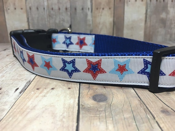 "The Liberty | Designer 1"" Width Dog Collar 