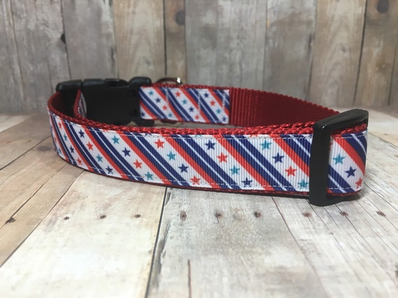 "The Alexander | Designer 1"" Width Dog Collar 