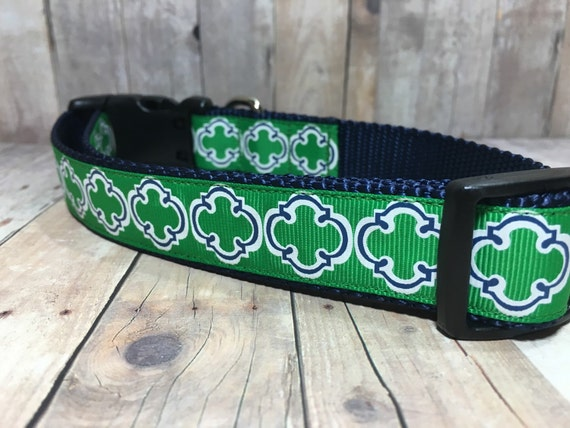 "The Knox | Designer 1"" Width Dog Collar 