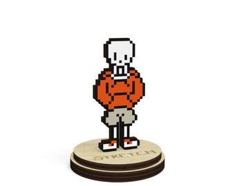 Download undertale nut cracker pack papyrus sans chara