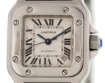 Ladies Cartier Santos Galbee Automatic 2423