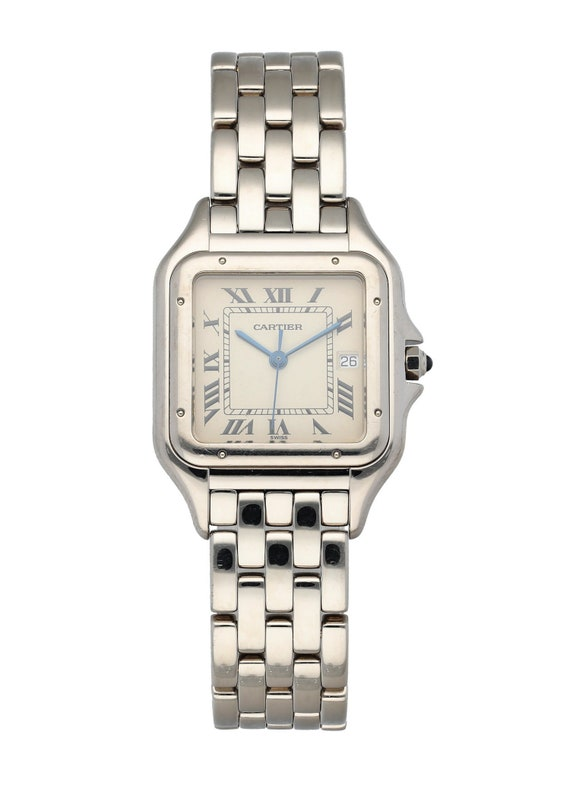 Cartier Panthere 1650 18K White Gold Watch