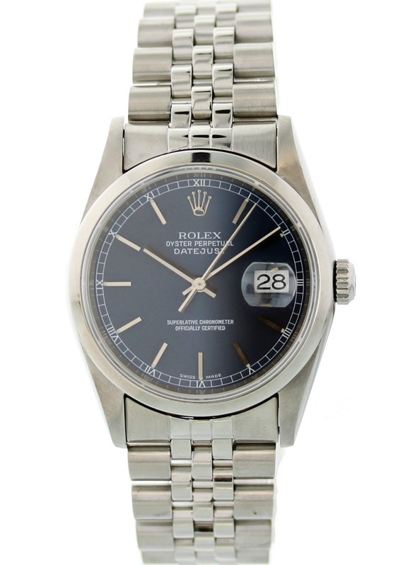 Rolex Oyster Perpetual Datejust 16200 Mens Watch
