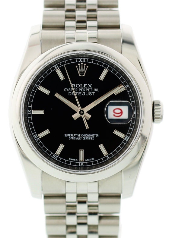 Rolex Oyster Perpetual Datejust 116200 W/ Rolex Ca