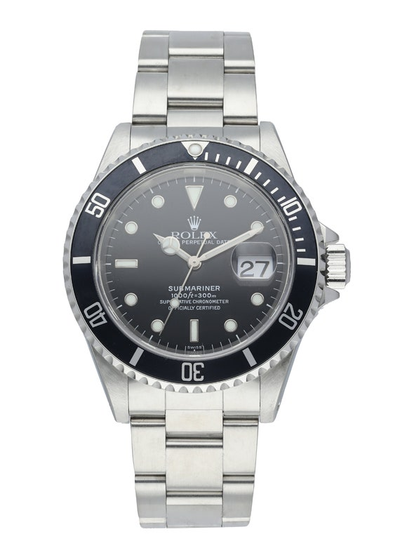 Rolex Submariner 16610 Mens Watch Box Papers