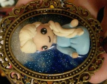Cameo chibi Elsa frozen