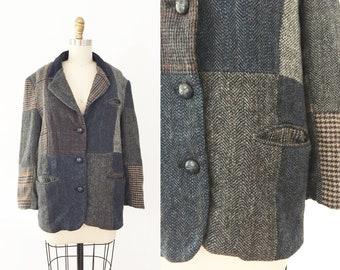 a929bbb99b00 Patchwork Vintage Blazer