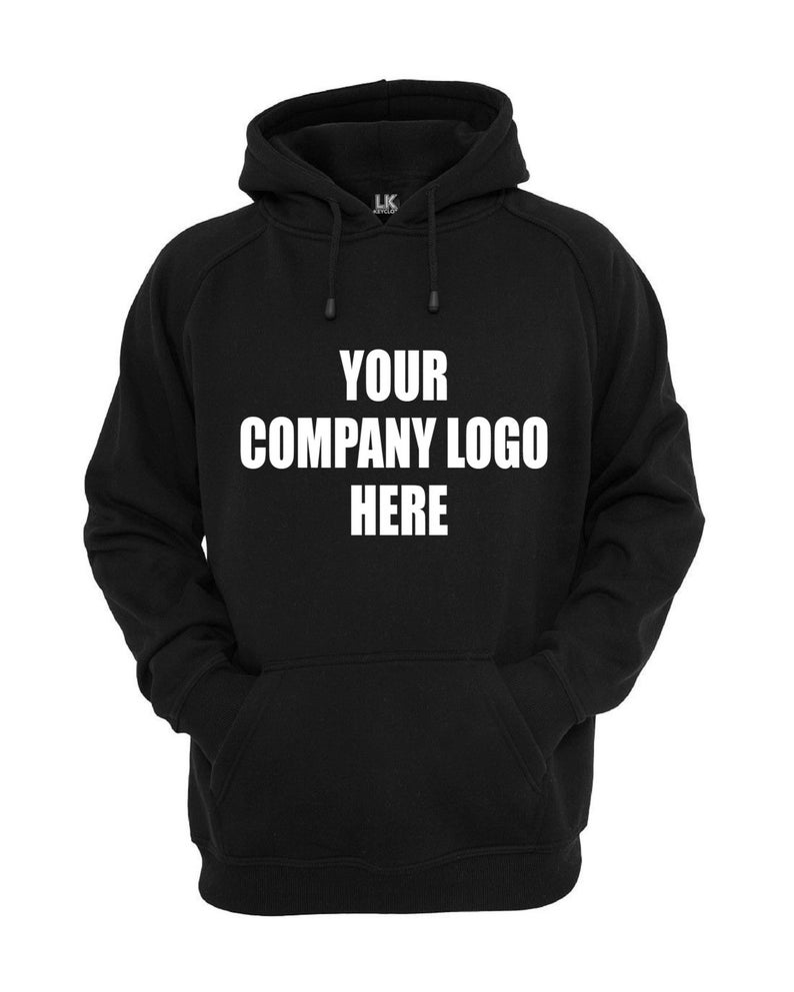Bespoke Women/'s Company Logo Hoodie Uniform Hoody Garment Printing Customised Personalised