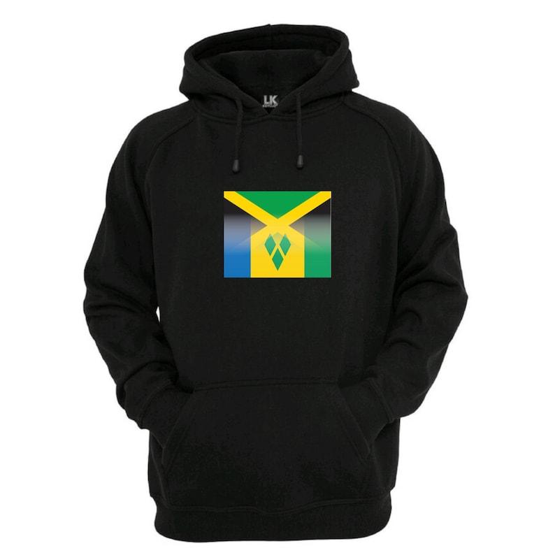 Jamaica Jamaican Flag Color Men Women Hoodie Sweatshirt Winter Sweater XS to 3XL