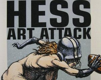 Epicenter Art Show Poster Derek Hess