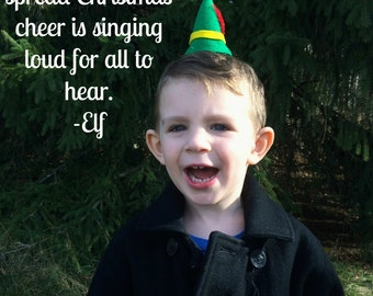 Christmas Elf Mini Hat: Christmas Fascinator