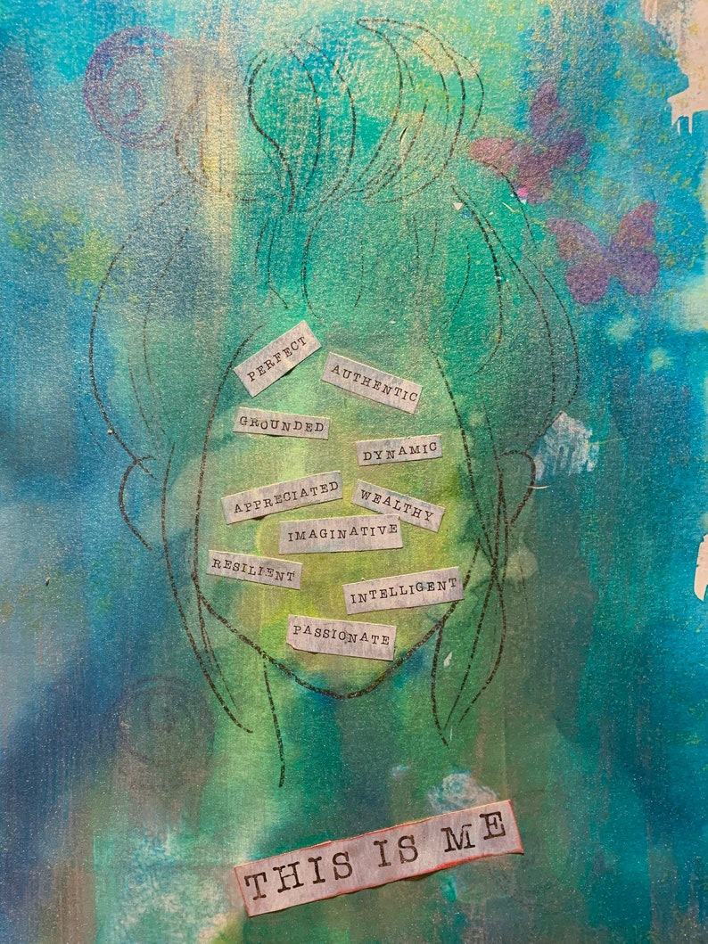 This is Me I am Printable Art Journaling Kit image 0