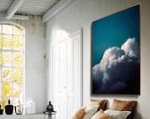 Cloud Painting, Extra Large Wall Art, Abstract Art, Large Abstract Painting, Pastel Cloudscape Art by Corinne Melanie Art - READY TO HANG
