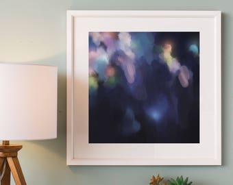 Abstract Art Print , Abstract Giclee Print , Modern Art Abstract , from Original Abstract Acrylic Painting