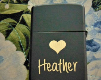 Customized or Handwritten Zippo Customized Just for You! Groomsman Gift Custom Unique Lighter great gift- beautiful item!