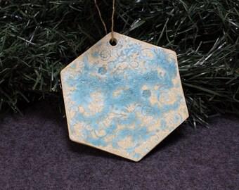 Large Hexagon Ornament
