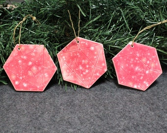 Medium Hexagon Ornament