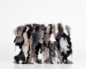 Fur Handbags Made of Fox Fur and Lambskin for Ladies. Women 39 s fur Clutch. Women 39 s purse. Gift for her.