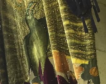 5b1c189764d79 Peacock duster | Etsy