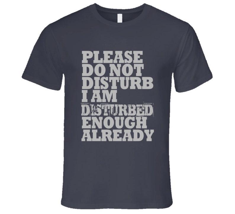 Perturbado-el final nuevo para hombre Camiseta