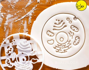 Human Cell cookie cutter | medicine biscuit cutters Gifts medical science Robert Hooke students health student biology doctors | Bakerlogy