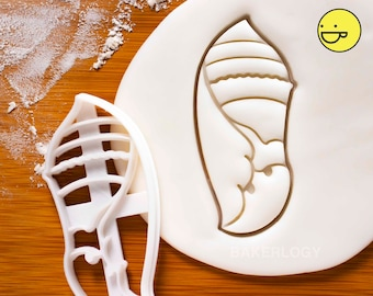 Chrysalis cookie cutter | Bakerlogy biscuit cutters Butterfly life cycle science birthday party larvae pupa hatch Caterpillar Monarch Eggs