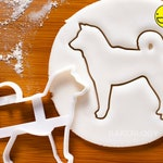 Shiba Inu Outline cookie cutter - Bake Cute Dog Treats