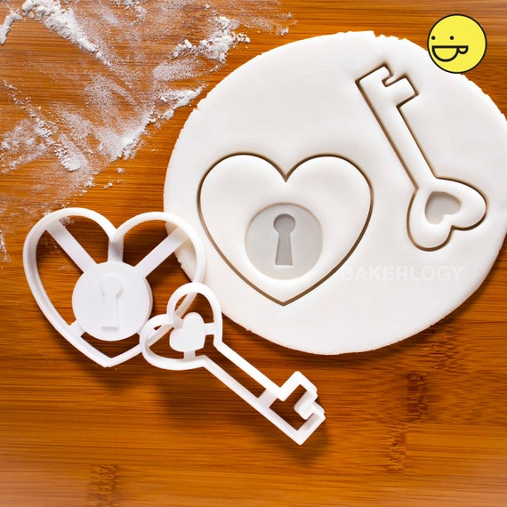 Sugarcraft /& Biscuit Fondant Key Cookie Cutter 3 Sizes New House Home