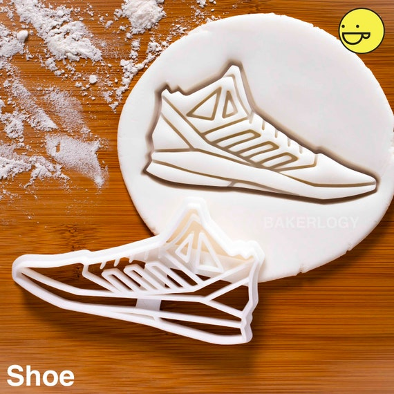 Emporte pièce chaussure basket pâte à sucre (Série de 6