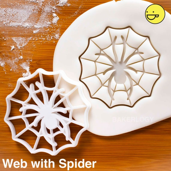Araña Cookie Cutter 03Fondant Pastel DecoraciónVendedor de Reino Unido