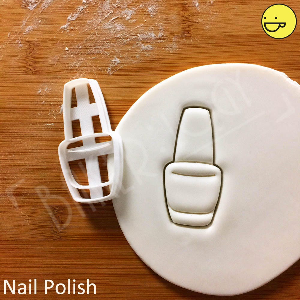 Nail Polish Cookie Cutter Make Up Beauty Biscuit Cutters