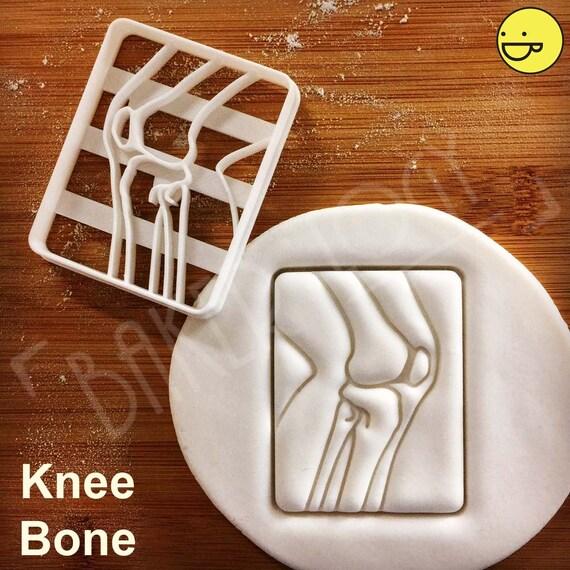 X-ray Knie Knochen Ausstecher Keks-Ausstechformen   Etsy