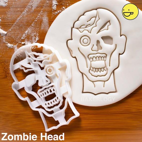 RIP Tombstone Cookie CutterHalloween Biscuit macabre Zombie Apocalypse Spooky