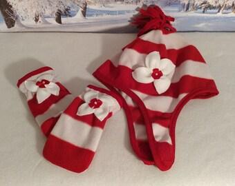 907460172ee Toddler Camo Fleece Hat Baby Girls Winter Hats Girls Chin