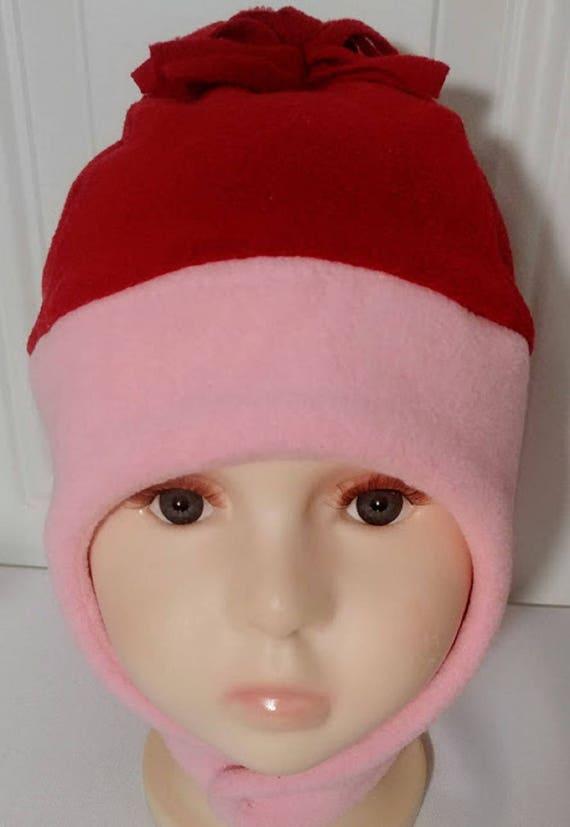 Toddler Girl Fleece Hat Girls Winter Hats Toddler Red Ear  d2d1e24ccc7