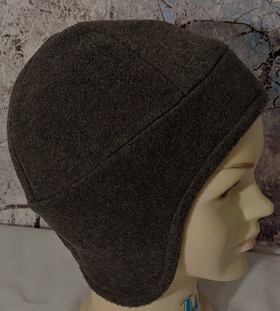 Gray Kids Hat Boys Trapper Hat Toddler Gray Ear Flaps Boys  5c383bb17cc