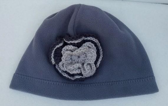 Gray Fleece Beanie Womens Fleece Hats Gray Beanie Hat for  dee2674dd30