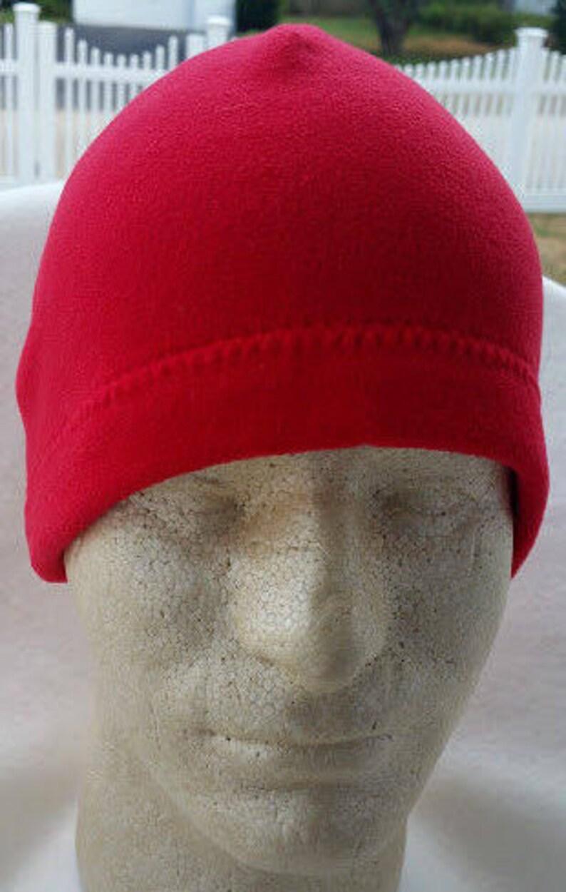 fedcb6accdd Red Men Beanie Red Beanie For Men Red Men Hats Men Fleece