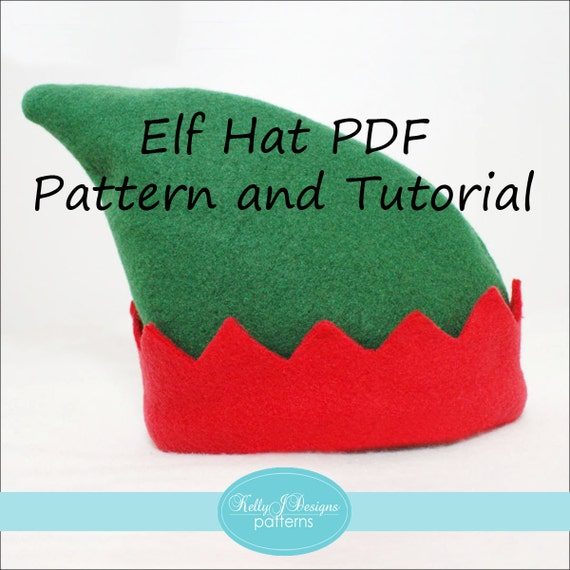Elf Hat Pattern Sewing Pattern Image collections - origami ...