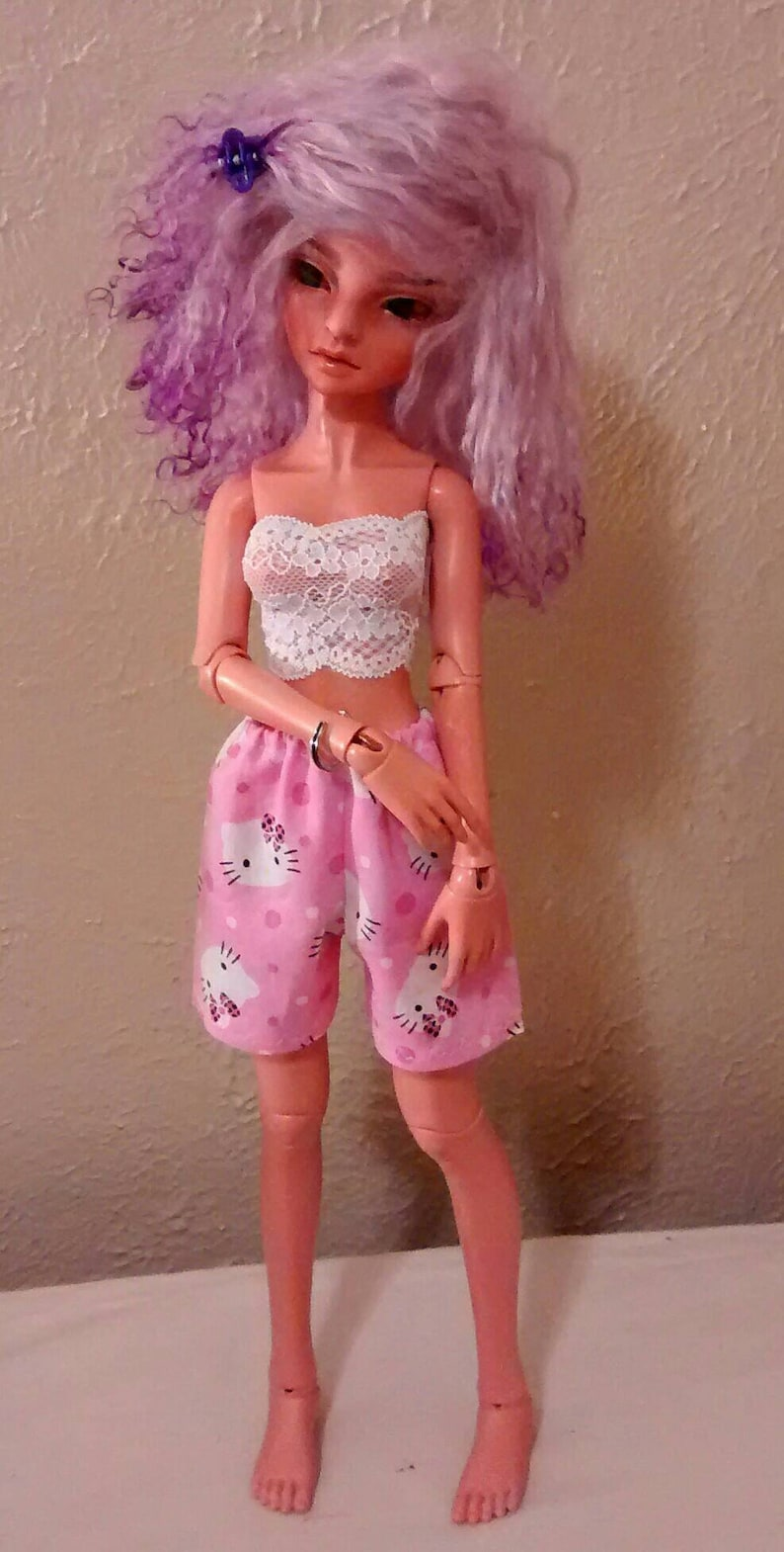 cc3656f95 MSD 40-46cm shorts pink hello kitty slim fit Unoa ResinSoul | Etsy