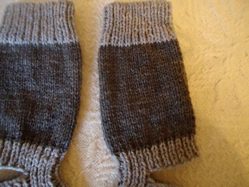 Hand knitted Yoga Socks