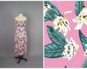 Bettie Dress Pink quot Kona Coast quot Hawaiian Floral